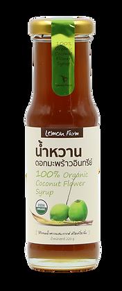 น้ำหวานดอกมะพร้าวอินทรีย์100% 220g