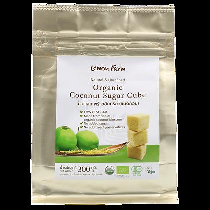 น้ำตาลมะพร้าวอินทรีย์ชนิดก้อน 300g