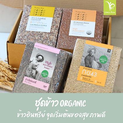 ชุดข้าว Organic 4 ชนิด