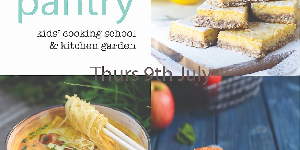 Thurs 9th July - Kids Pantry ALL DAY PROGRAM