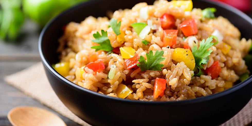 Vegan Rice Salad - Kids Pantry Online Cooking Class