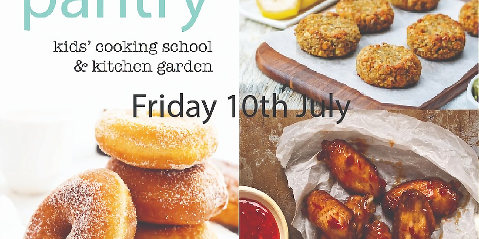 Friday 10th July - Kids Pantry ALL DAY PROGRAM