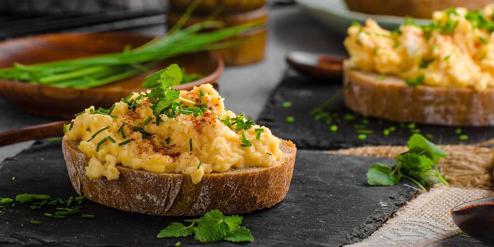 Scrambled Eggs with Cheese & Chives - Kids Pantry Online Cooking Class