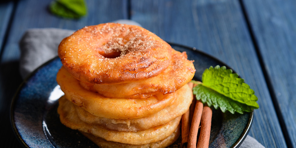 Apple & Cinnamon Fritters - Kids Pantry Online Cooking Class