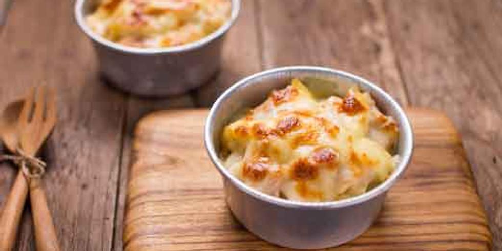 Coconut Chicken Pasta Bake- Kids Pantry Online Cooking Class