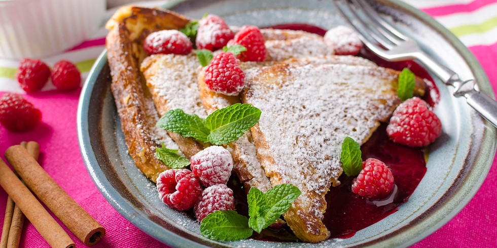White Chocolate & Raspberry Toasties - Kids Pantry Online Cooking Class
