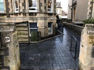 Victorian Block paving