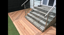 Indonesian Yellow Balau hardwood decking