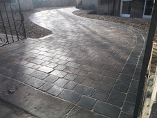 Bradstone rumbled block pathed path