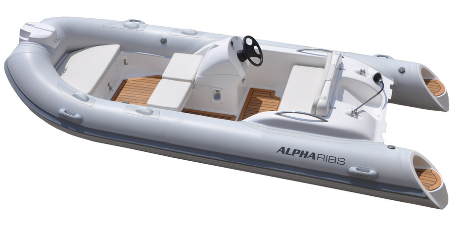ALPHA 4-kleines-Festrumpf-Schlauchboot-R