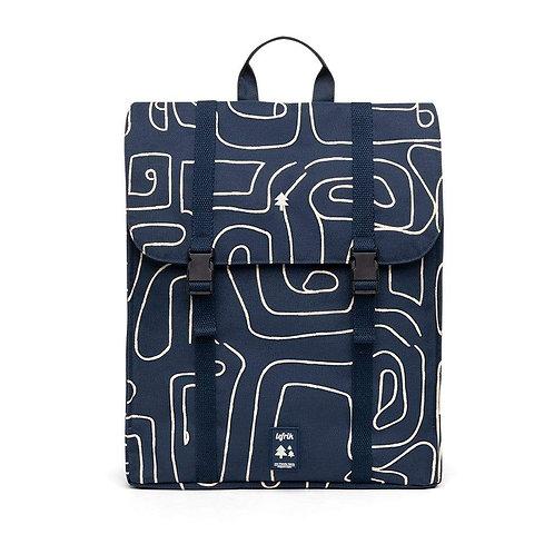 Lefrik Handy Backpack - Graphic Navy