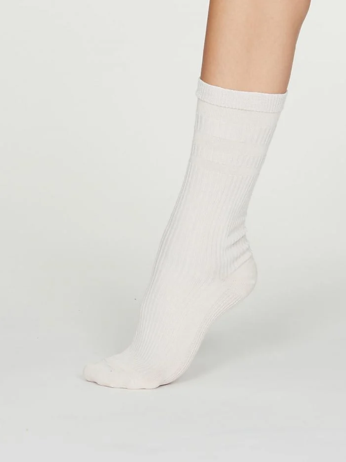 Thought Beatrice Seacell Diabetic Socks, Vanilla (Women's)