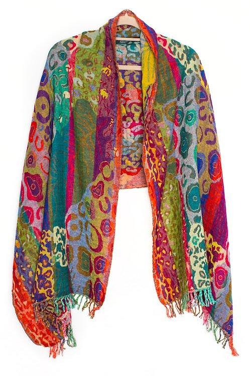 Nila Rubia Merino Wool Shawl – Klimt