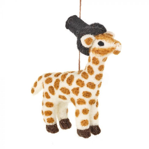 Felt So Good Geoffrey Giraffe Decoration
