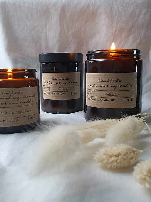 Heaven Scent Brown Pharmacy Pot Candle