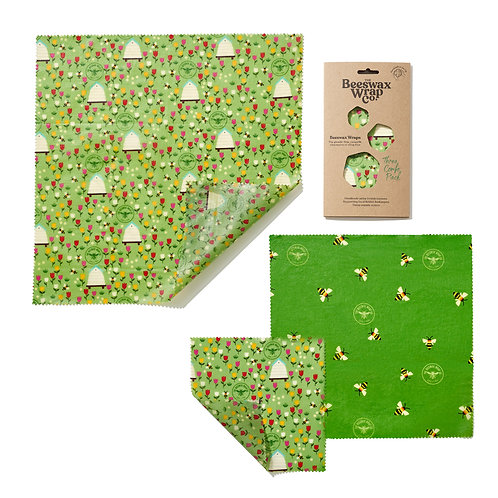 Beeswax Wrap - Medium (3-pack)