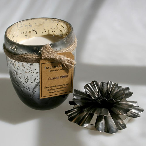 Scented Candle - Silver