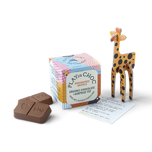 PlayInChoc ToyChoc Box - Endangered Animals