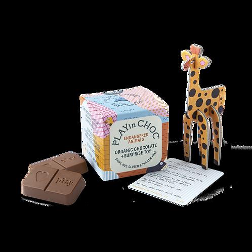 ToyChoc Box - Endangered Animals