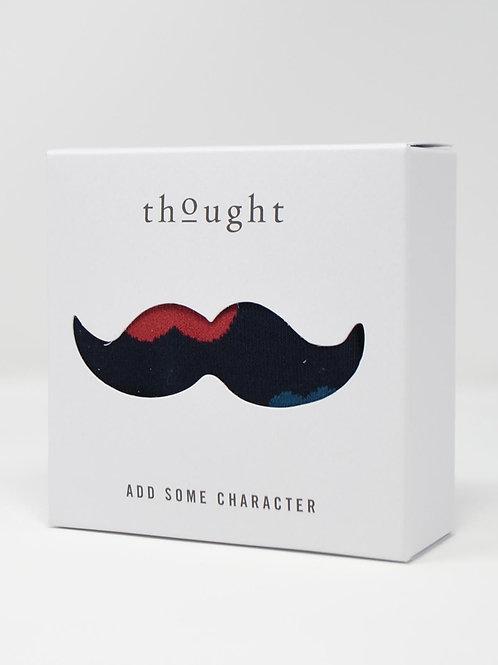 Thought Richard Bamboo Moustache Gift Socks (Men's)