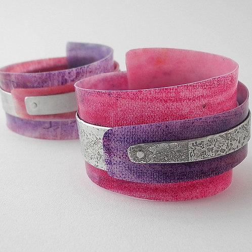 Nocean Cuff - Pink/Purple