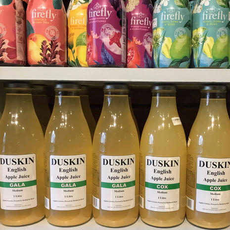 Apple juice, botanical drinks and more
