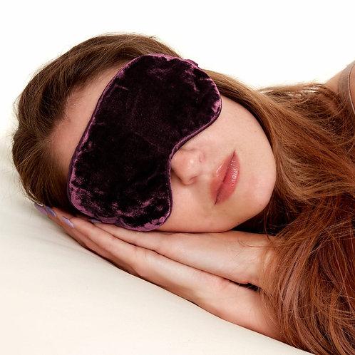 Earth Squared Velvet Eye Mask