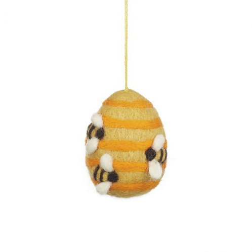 Felt So Good Busy Beehive Hanging Decoration
