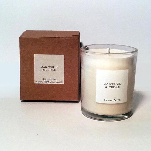 x40-hour Candle in Box – Oakwood & Cedar