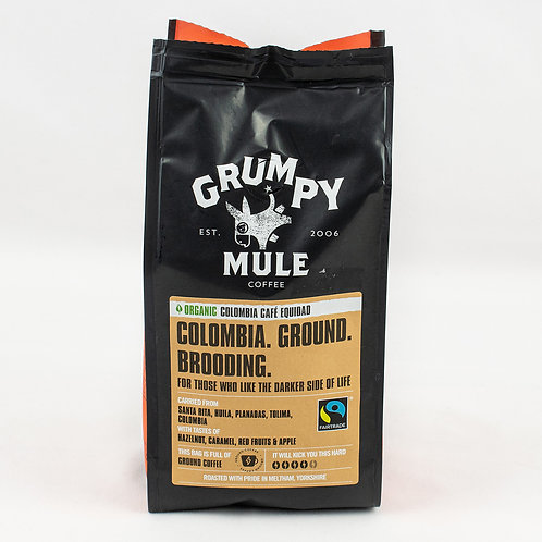 Grumpy Mule Organic Columbia Equidad Coffee