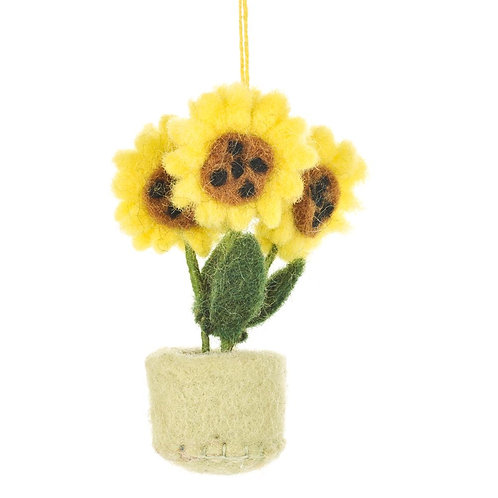 Pot o' Flowers Decoration
