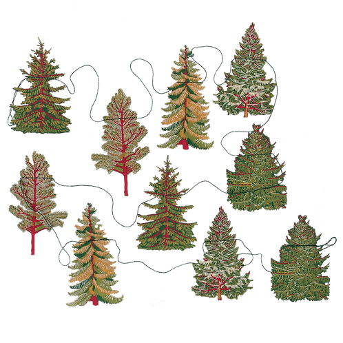 Festive Forest Garland