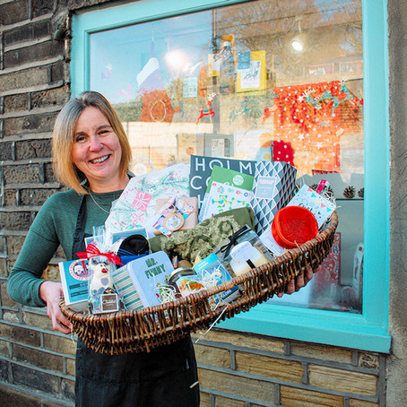 Shop Local, Shop Holmfirth Campaign - Christmas Hamper Giveaway