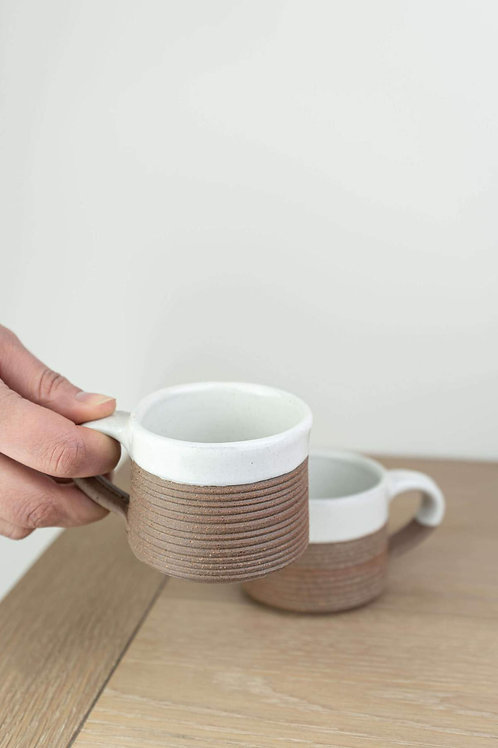 Nkuku Mali Ribbed Espresso Coffee Mug