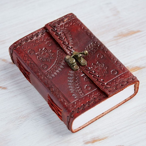 Paper High Indra Medium Stitched Embossed Journal