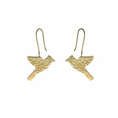Just Trade SOT Bird Flying Earrings