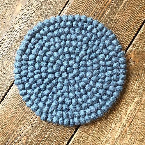 AURA QUE MILDO Handmade Eco Felt Ball Table Mat