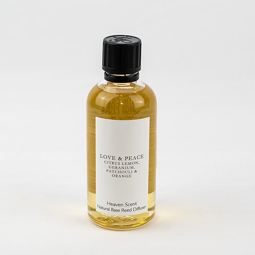 Essential Oil Reed Diffuser Refill - Love and Peace