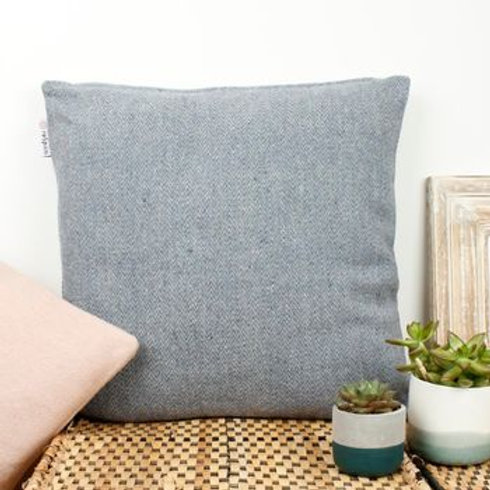 Zig Zag Square Wool Cushion
