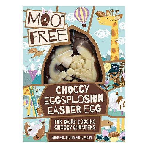 Moo Free Choccy Eggsplosion Easter Egg