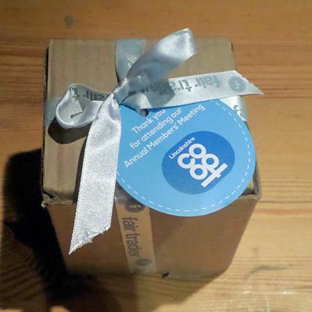 Fair Trader mug – box