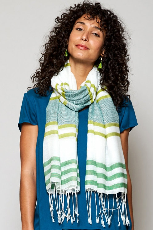 Nomads Twin Stripe Scarf