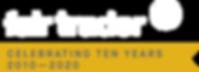 Fair Trader 10 Year Logo Tabbed White_40