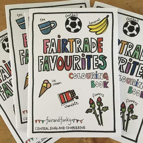 fairandfunky Fairtrade Favourites Colouring Book