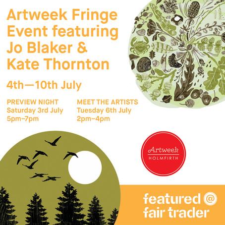 Holmfirth Artweek at Fair Trader