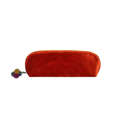 Earth Squared Velvet Cosmetic Case