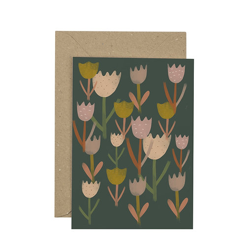 Plewsy Tulips Card