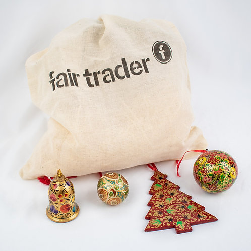 Kashmir Baubles in Gift Bag