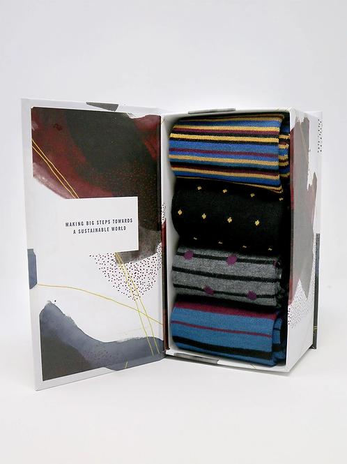 Thought Bamboo Sock Gift Box - Alexandar (Men's)
