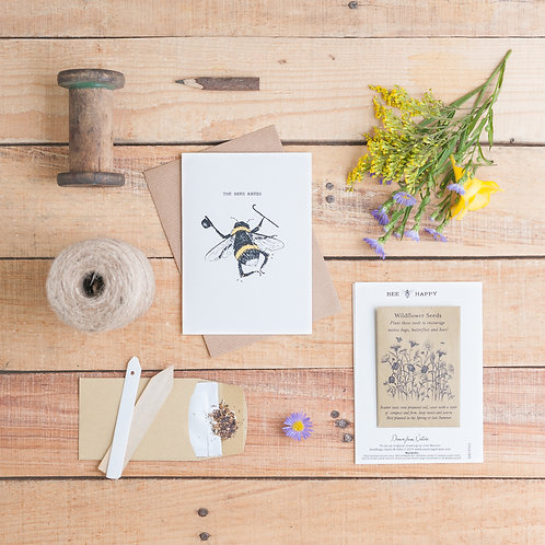 The Bees Knees Seed Card